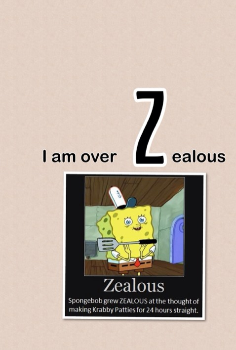 Zealous Spongebob