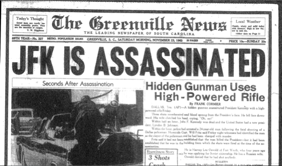 the jfk assassination conspiracy or single gunman Free essay: the jfk assassination: conspiracy or single-gunman adolf hitler, the nazi dictator of germany during world war ii, once said, the bigger.
