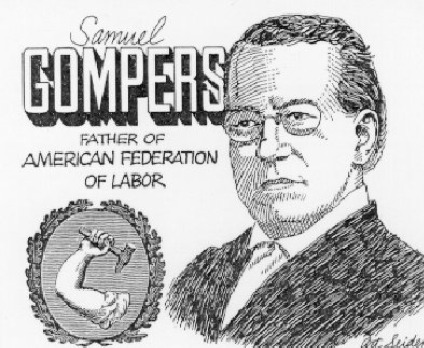 Image result for samuel gompers