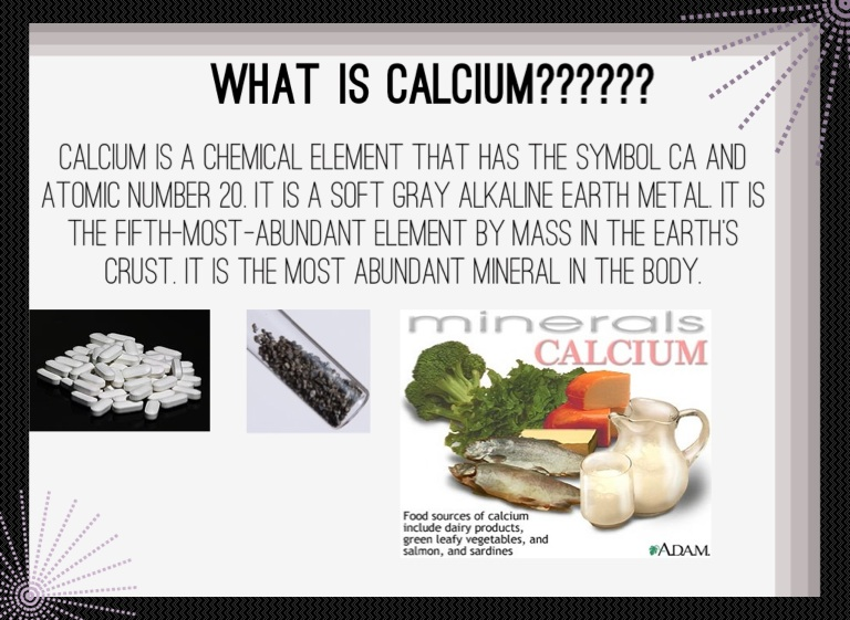 Calcium Report Screen 2 On Flowvella Presentation Software For