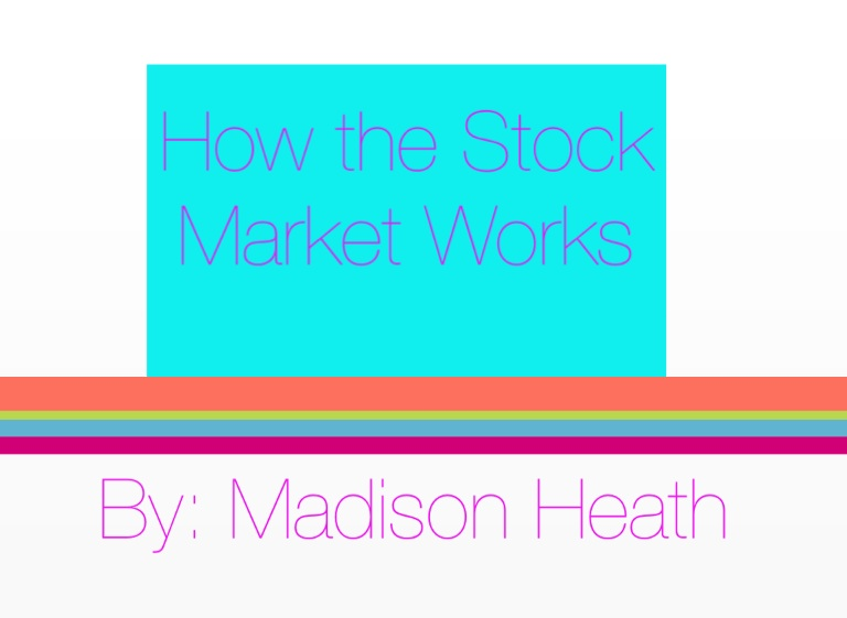 How the Stock Market Works on FlowVella - Presentation ...