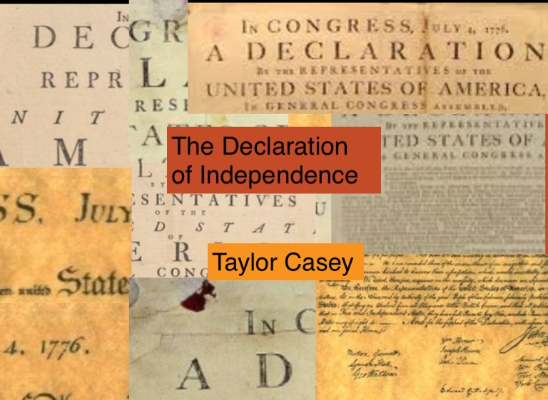"the basic ideals of the declaration of independence Although thomas jefferson is often called the ""author"" of the declaration of independence, he wasn't the only person who contributed important ideas jefferson."