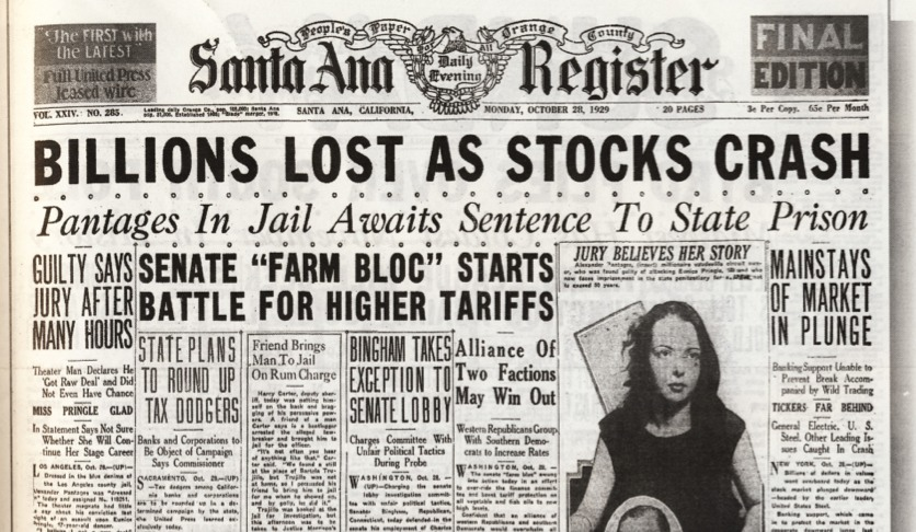 1930s stock market picture