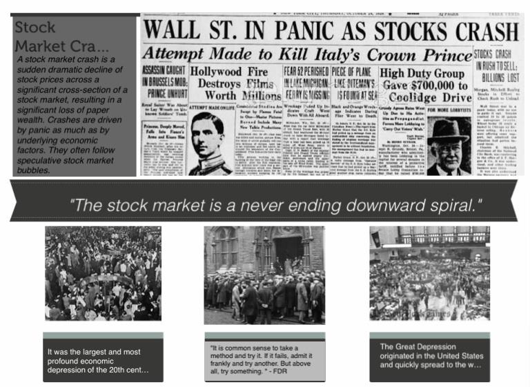 stock market crash 80s