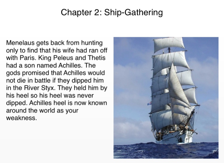 Black Ships Before Troy!! Chapters 1-14 - Screen 3 on