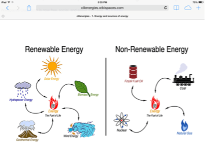 renewable and nonrenewable resources - screen 2 on flowvella