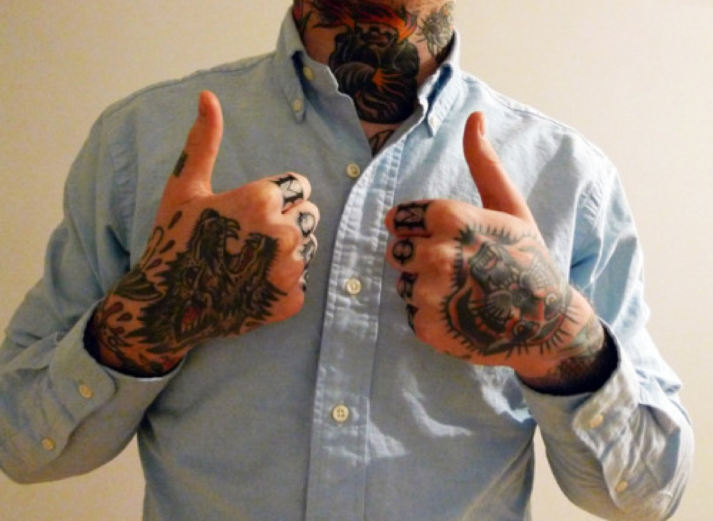 should tattoos be accepted in the workplace Tattoos are more popular than ever, but for many years people associated tattoos with gangs, armed forces and other groups that were seen as a scourge on society.