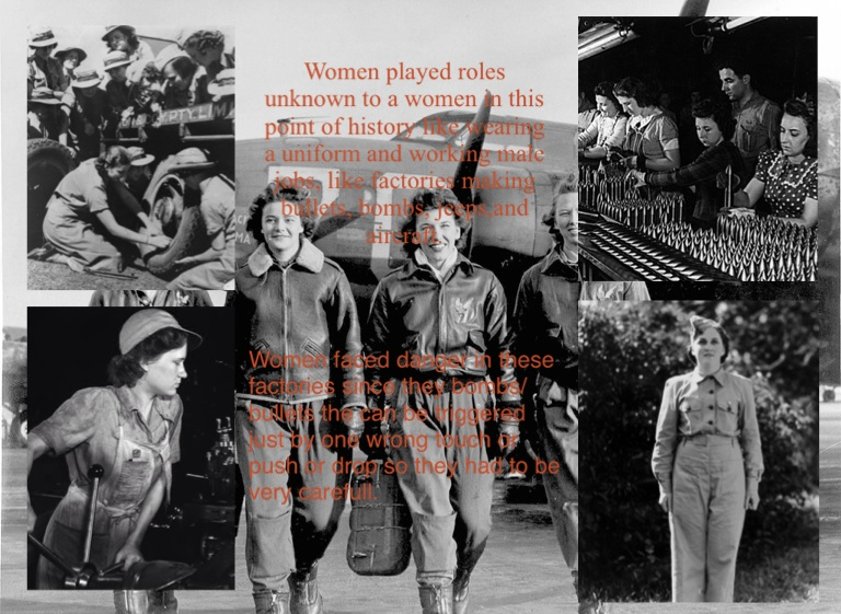women s role in world war 2 Research papers on women in world war ii women in world war ii research papers look at the roles women played during this time how do you start a women in world war ii research paper.