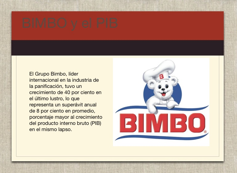 grupo bimbo case study Question 3 why is grupo bimbo much less profitable in brazil and the us than its home market of mexico.
