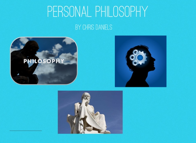 how to create a personal philosophy