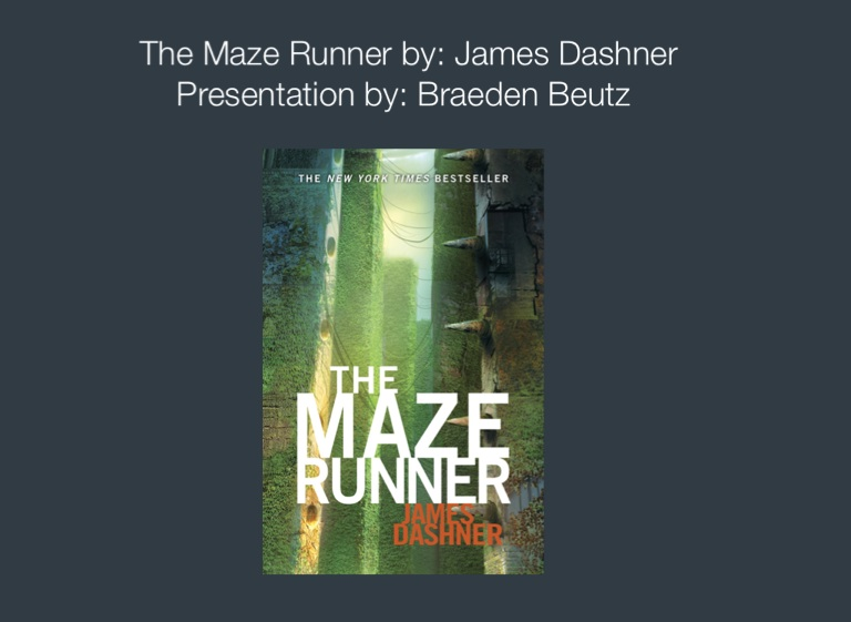 The Maze Runner Screen 2 On Flowvella Presentation Software For