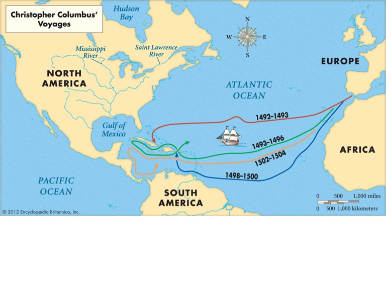 the pros and cons of the voyages and discoveries of christopher columbus Pros: his discovery began the age of exploration of the new world by europe, culminating in european settlements in north and south america, which eventually created the modern nations we know .