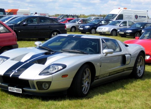 Ford Gt Screen  On Flowvella Presentation Software For Mac Ipad And Iphone