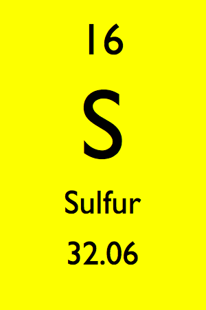 Periodic Table Element Sulfur Screen 2 On Flowvella