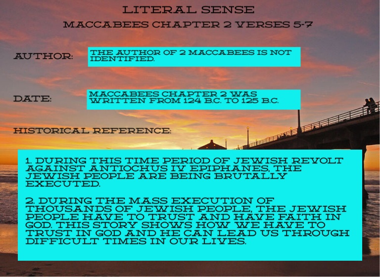 2 Maccabees 5-7 - Screen 2 on FlowVella - Presentation