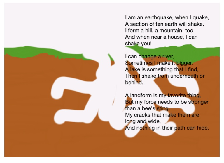 Earthquake Poem On FlowVella Presentation Software For