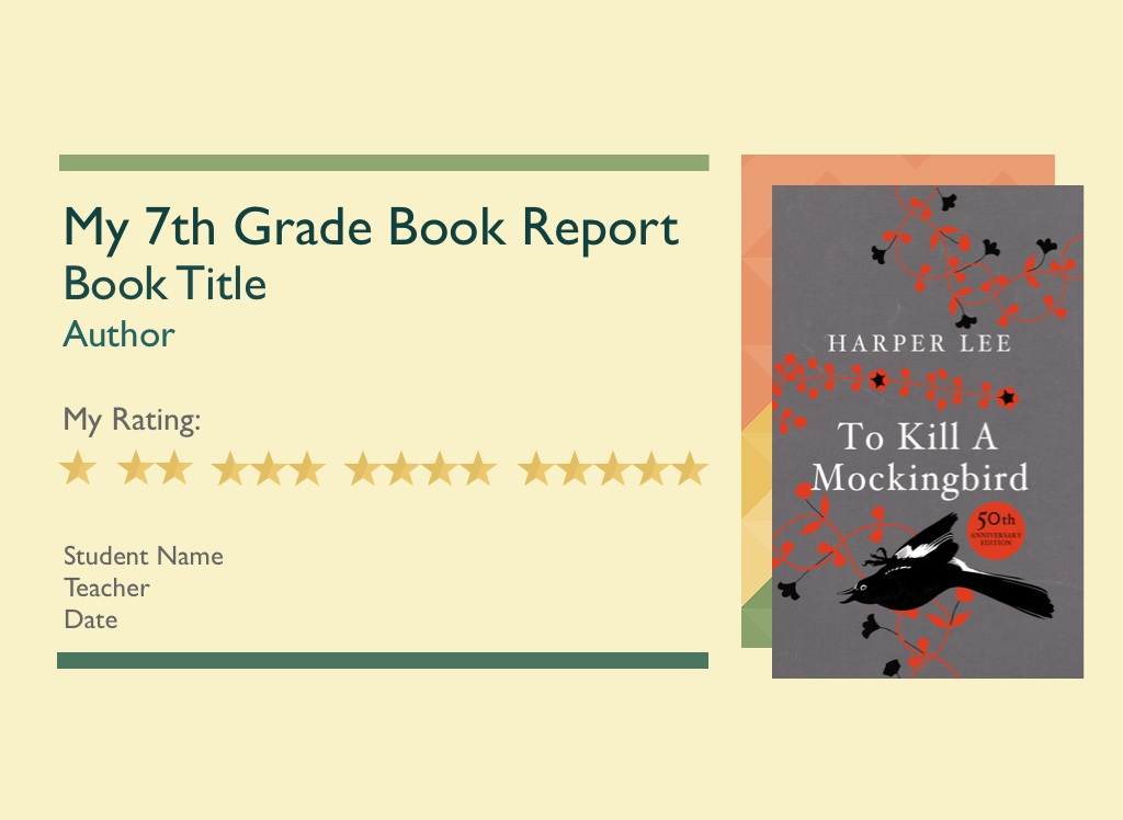 book report books for 8th grade