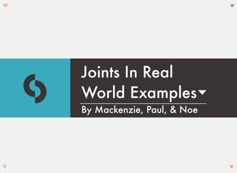 Joints In Real World Example Screen 6 On Flowvella Presentation