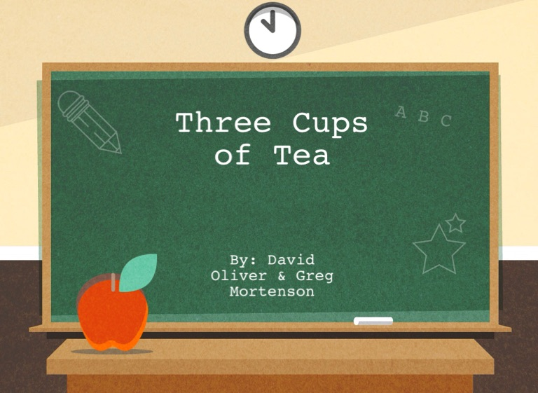 three cups of tea thesis Jon krakauer describes greg mortenson's three cups of deceit, and its seattle origins author of the inspiring book three cups of tea the accusations were aired on cbs last i also a teach a senior seminar and one of my students is doing her thesis on ngos working in afghanistan and.
