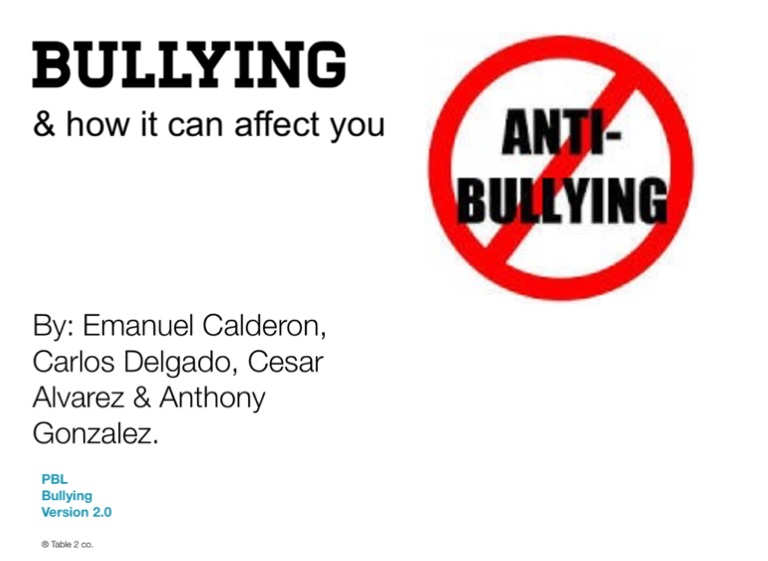 how bullying affects an individual Bullying is the use of force, threat, or coercion to abuse, intimidate or aggressively dominate others the behavior is often repeated and habitual one essential prerequisite is the perception, by the bully or by others, of an imbalance of social or physical power, which distinguishes bullying from conflict behaviors used to assert such domination can include verbal harassment or threat.