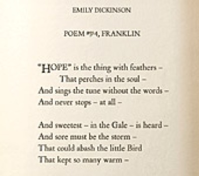 emily dickinson it was not death